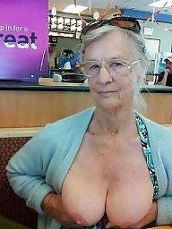 Boobs granny amatoriale