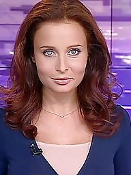 Z tv, Tv babes, Tv celebrities, Russian redheads, Russian celebrity, Russian babes