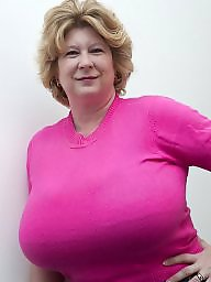 Pink, Mature boobs