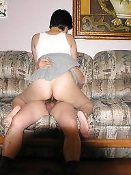 Asian wife, Mature asian, Hairy wife, Mature hairy, Boss, Asian mature
