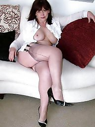 Sexy mature, Stocking milf, Mature stockings