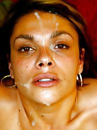 Cum facial, Cums, Amateur facial
