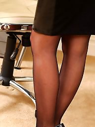 Upskirt stocking autoreggenti