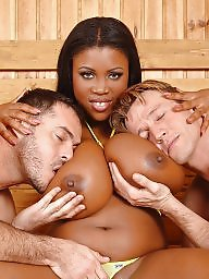 Two boobs big, With guys, With guy, With fun, Sauna milf, Sauna boobs