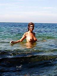 Busty amateur, Busty beach, Public, Beach, Amateur beach