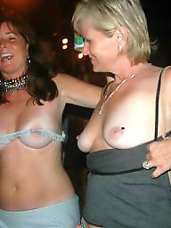 Mature, Amateur mature, Hanging tits