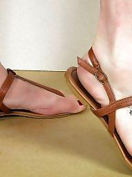 Sandals, Teen feet, Feet, Mature feet, Feet mature