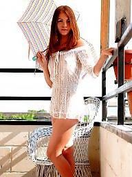 White mini, White babes, Mini dresses, Dressed babes, Dress babe, Brunette dressed