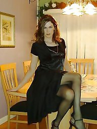 Dress, Stocking milf, Ups