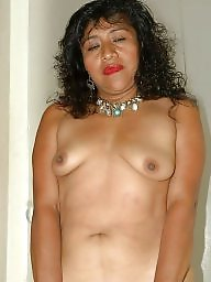 Latin mature, Saggy tits, Mexican