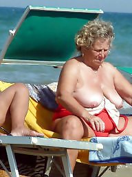 Granny beach, Beach granny, Granny big boobs, Beach boobs, Busty granny, Mature beach