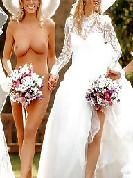 Public nudity, Upskirt, Wedding, Public upskirt, Wedding dress