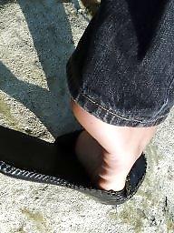 Feet, Teen amateur, Teen, Brunette