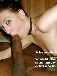 Interracial captions, German caption, German, German captions, Cuckold, Cuckold captions