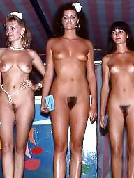 Hairy nudist, Nudists, Nudiste, Hairy public, Public, Hairy group