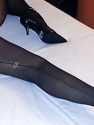 Amateur stockings, Black pantyhose, Pantyhose, Pantyhose amateur, Black stockings