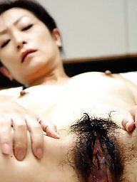 Japanese, Asian milf, Creampie