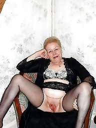 Granny, Granny pussy, Mature pussy