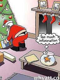 산타걸, ㅅㅅ만화