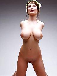 Huge tits, Busty, Big tits, Short hair, Short, Shorts