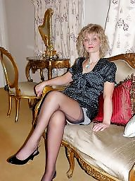 Mother in law, Mothers, Mature stockings, Mother, My mother, In law