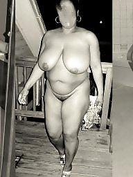 Ebony amateur, Naked, Ebony public, Collage, Wifey