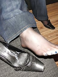 Feet, Nylon feet, Amateur feet, Stocking feet, Nylons, Black feet