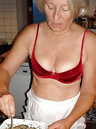 Mature kitchen, Kitchen, Sexy mature