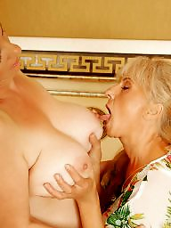 Mature lesbians, Old granny, Mature lesbian, Daughter, Granny fucking