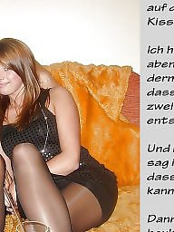 Femdom caption, German captions, Caption, German, Captions, German caption