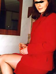 Red stockings, Red stocking, Red in stocking, Red dresses, Red dress, Pix