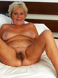 Mature big tits, Granny tits, Granny pussy, Big pussy, Mature pussy, Hairy mature