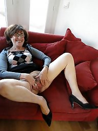Hairy mature, Upskirt, Gilf, Hairy