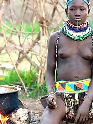 African, Tribal, Public nudity, Ebony, Black, Ebony amateur