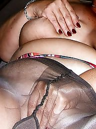 Pantyhose, Mature pantyhose, Wife
