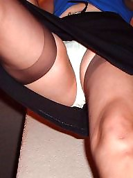 Upskirt stockings, Mature upskirt, Mature panties, Upskirt panty, Panties, Mature panty