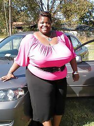 Ebony bbw, Clothed