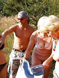 Mature outdoors, Mature group, Old young, Mature outdoor, Outdoors, Granny