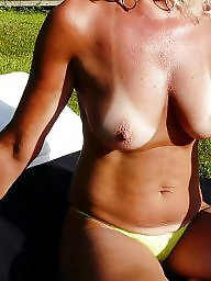 Beach, Mature amateur, Amateur mature, Mature