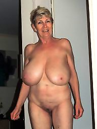 Mature, Granny, Big tits, Big boobs, Mature tits, Big