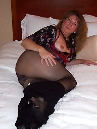 Mature milf stockings pantyhose