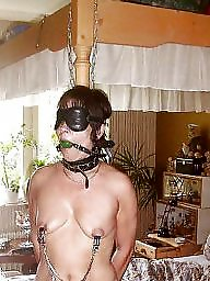 Mature bdsm, Mature bondage, Mature interracial, Interracial bdsm, Bondage, Clamp