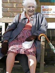 Upskirt mature, Grandma, Upskirt, Grandmas