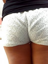 Hidden cam, Ass crack, Short shorts, Shorts, Short, Public ass
