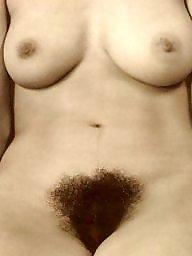 Vintage hairy, Vintage, Naked