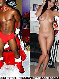 Christmas, Wives, Black cock, Interracial