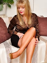 Mature stockings, Legs, Leggings, Mature legs