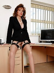 Lady sonia, Mature stockings