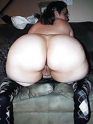 Hairy, Bbw ass, Bbw