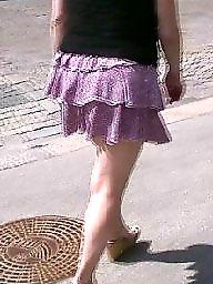 Upskirt public, Underwear